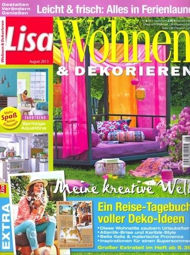 lisa wohnen dekorieren. Black Bedroom Furniture Sets. Home Design Ideas