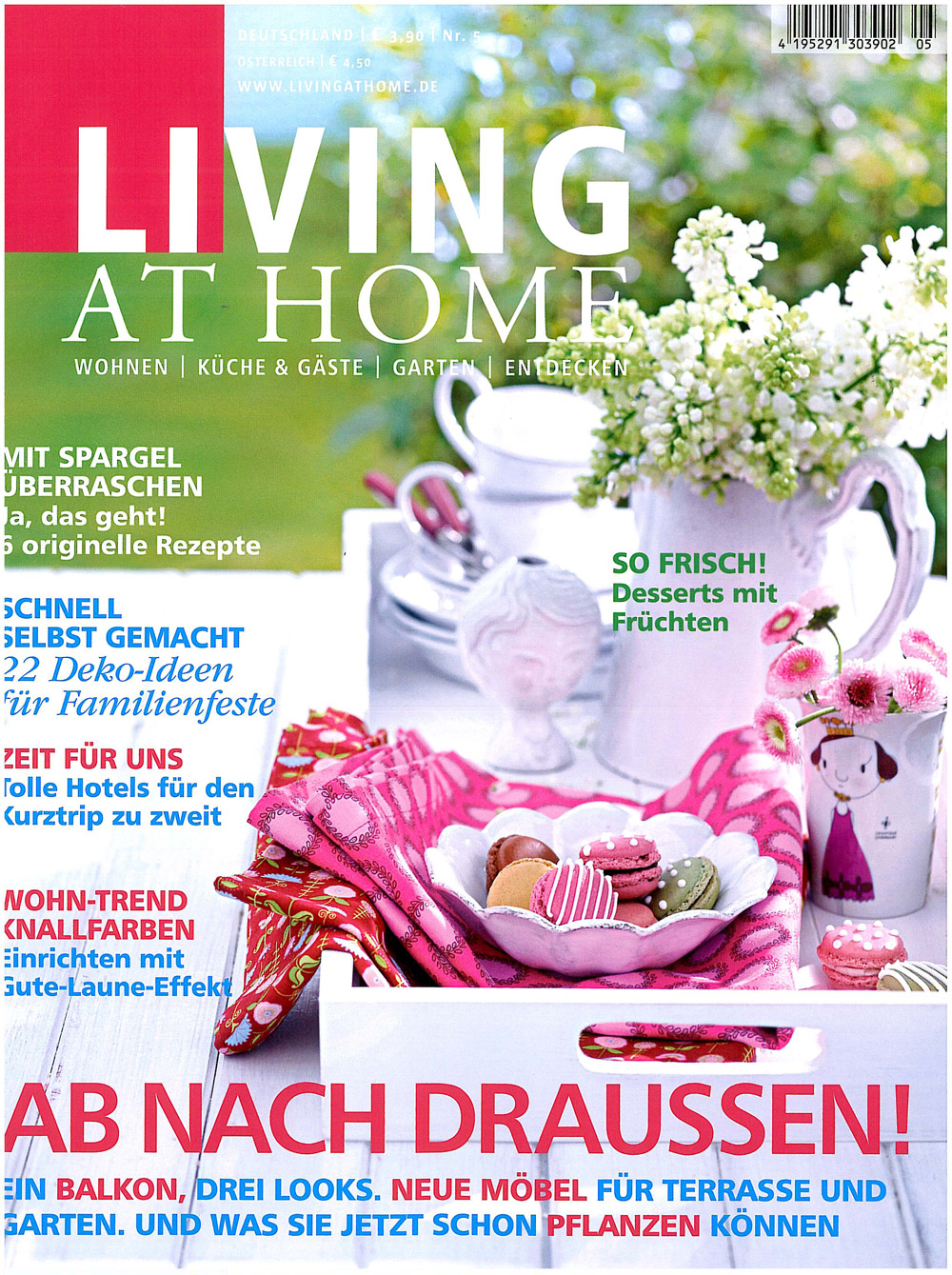 Living Home Zeitschrift living at home abo ch
