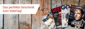 Abo.ch, Vatertag, Magazine, Holz,Rot, Weiss